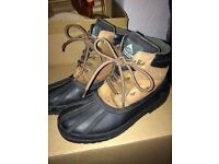 Short mountain horse yard boots size 5