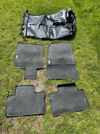 Genuine BMW Mini car mats and boot cover/liner