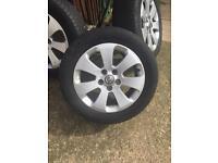 Vauxhall insignia alloy wheel 225/55/17