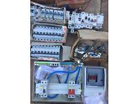 Electricians BIG Job Lot - cable, power tools, breakers etc