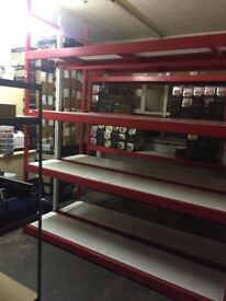 SHELVING STOCK ROOM FITTING FOR ALL TYPES OF STORES