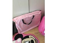 Doggy play pen (pink)