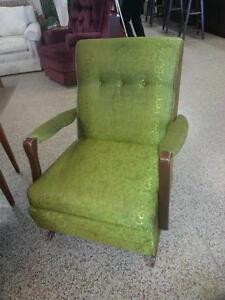 Funky Green Retro Chair