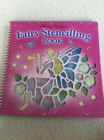 FAIRY STENCILLING BOOK by Shirley Barber
