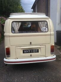 1979 bay vw campervan, mot, fully working condition, ready to go, had inside redone and resprayed.