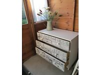 Chest of drawer in a 'Decoupage' style