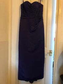 Debut ball gown (size 12)
