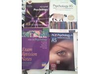 4 psychology as level books. all in very good condition