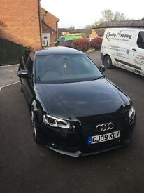 Audi A3 2.0 tdi s line BLACK EDITION 170 FULL LEATHER!