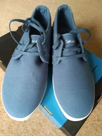 Circa blue skateboarding shoe UK 10