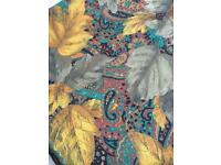 Autumn leaves fabric