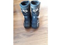 Fox 5k comp motocross kids boots uk size 12 5 eu size 31