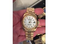 Rolex mens watch