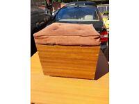 Square Poofee Storage Box