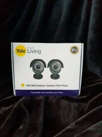 Brand new Yale HD1080 CCTV Bullet Cameras - Twin Pack Swann lorex