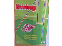 Brand New in Box -Children's Kids Single Outdoor Garden Swing -by Ozbozz -