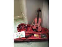 Violin - Archetto 1/2 Size Pink