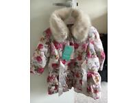 Brand new Monsoon coat age 18-24 months
