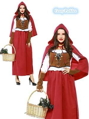 Little Red Riding Hood Oktoberfest Halloween Fancy Dress Fairy Tales Costume](Halloween Fairy Tales Costumes)