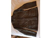 Olive green quilted Barbour Filey ladies jacket - size 12 - excellent condition