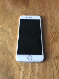 Immaculate iPhone 6 128gb in silver