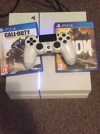 Boxed white ps4 500gb