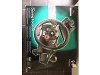 PS3 320gb +Steering Wheel and games