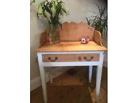Victorian Stripped Pine Washstand Dresser Desk Stand