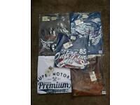 5x Brand New Onfire XXL T-shirts