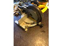 Dewalt 110 volt chop saw