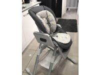 360 Spin high chair