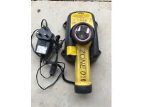 Wolf R55 Atex torch and charger unit