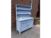 Annie sloane painted ercol? Dresser. Space needed.