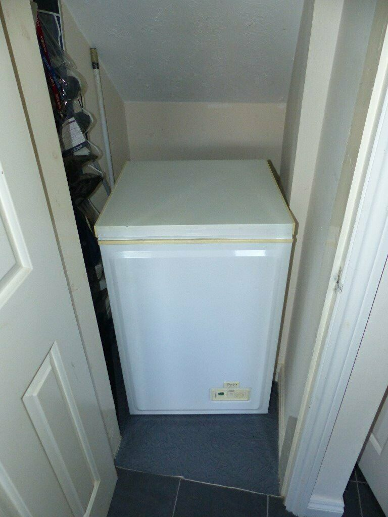 Phillips Whirlpool Chest Freezeer White In Winsford
