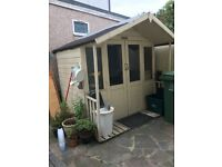 Mercia summerhouse with veranda 6ft11in x6.4in