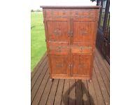 Rustic Oak Finish 'Bar' (or General Storage Unit)
