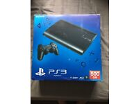 PS3 500GB Newest model with games
