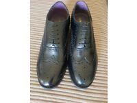 Brand New Boxed Mens Size 10 Shoes Prestige Brogue Black