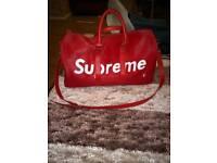 Supreme lv duffel bag