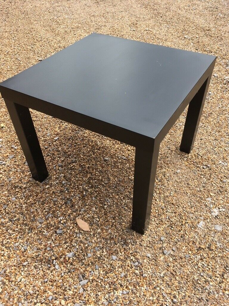 Side Table Surrey.Square Black Coffee Table Side Table In Englefield Green Surrey Gumtree