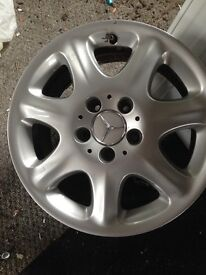 Clean boxed Alloy wheels - Mercedes