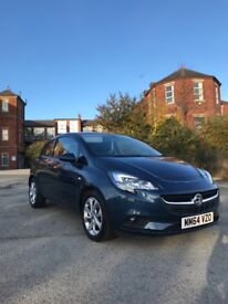 2015 Vauxhall corsa 1.4 ecoFLEX excite (AC) 3dr hatchback low mileage only 2660