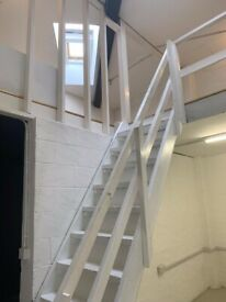 Amazing warehouse office space with mezzanine