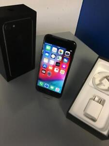 iPhone 7 128 Go JET BLACK WARRANTIED 6 MONTHS/ GARANTIE 6 MOIS