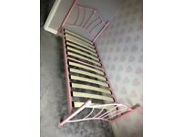 Little girls bed frame - free if you can collect