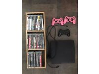Playstation 3 Excellent Condition 500GB Includes Accessories & Games Bundle With Stand For Games