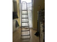 Nearly new strong stepladder