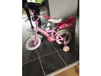 Age 2-4 girls bike.