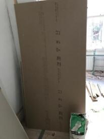 FREE sheet of plasterboard & 2kg plaster