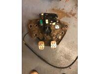 Renault Clio sport 182 pedal box